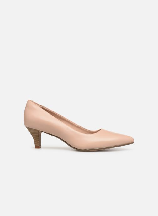 High heels Clarks Linvale Jerica Beige back view