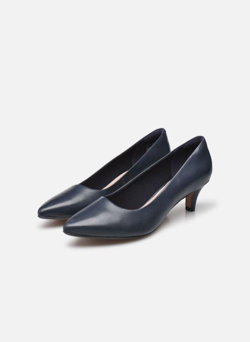 Zapatos de tacón Clarks Linvale Jerica Azul vista de abajo