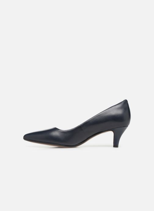 Zapatos de tacón Clarks Linvale Jerica Azul vista de frente