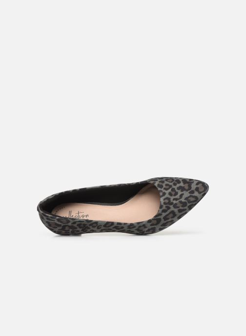 High heels Clarks Linvale Jerica Grey view from the left