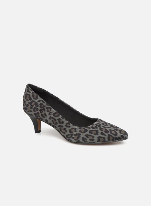 High heels Clarks Linvale Jerica Grey detailed view/ Pair view