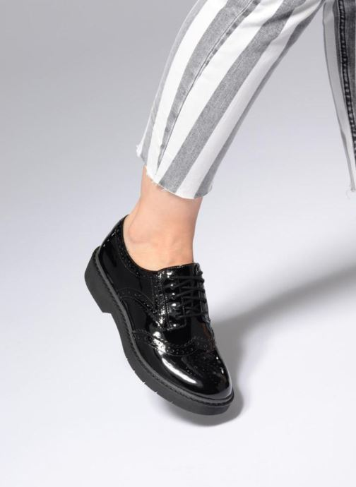 fc33aca190ce Lace-up shoes Clarks Alexa Darcy Black view from underneath   model view
