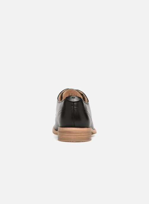 Lace-up shoes Clarks Edenvale Ash Black view from the right