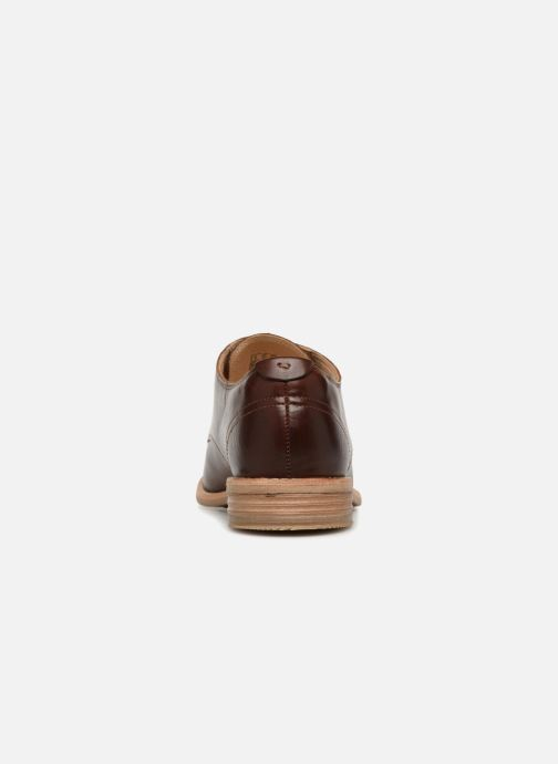 Lace-up shoes Clarks Edenvale Ash Brown view from the right
