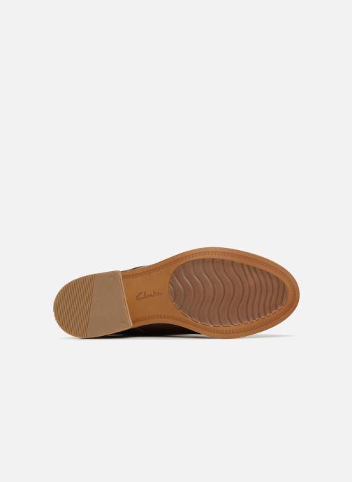 Snörade skor Clarks Edenvale Ash Brun bild från ovan