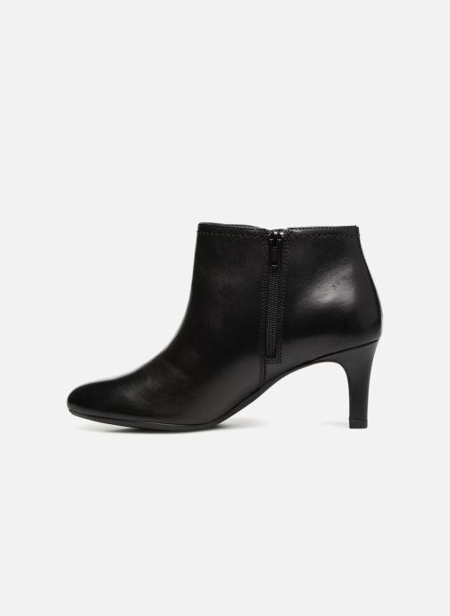 Bottines et boots Clarks Dancer Sky Noir vue face