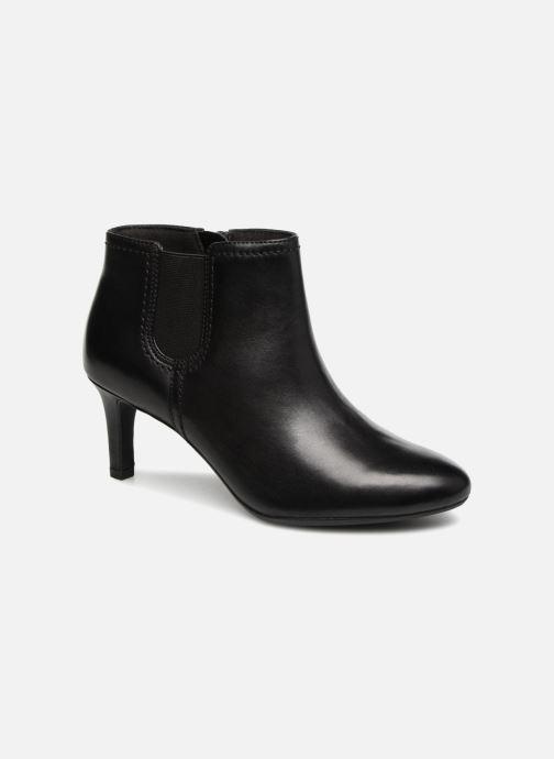 Bottines et boots Clarks Dancer Sky Noir vue détail/paire