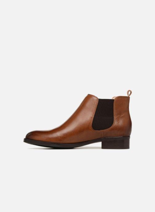 Bottines et boots Clarks Netley Ella Marron vue face