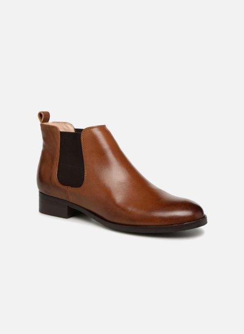 Bottines et boots Clarks Netley Ella Marron vue détail/paire