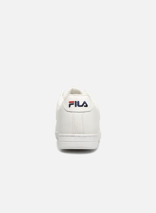 Deportivas FILA FX100 Low Blanco vista lateral derecha