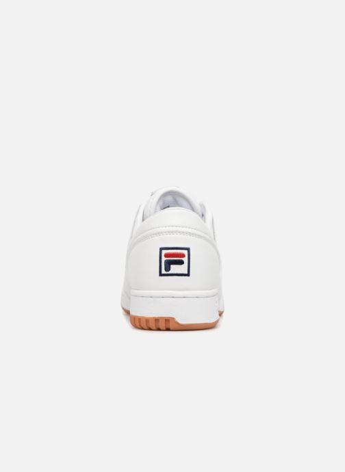 Baskets FILA Original Fitness H Blanc vue droite