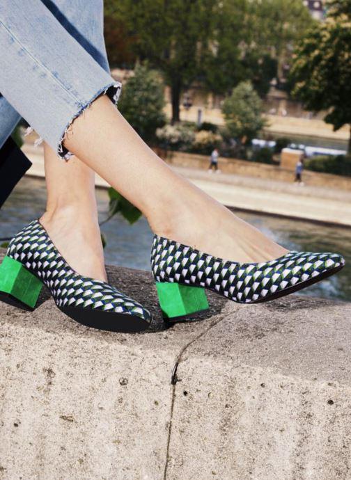 Escarpins Made by SARENZA Made by Sarenza X Elise Chalmin Escarpin Vert vue portées chaussures