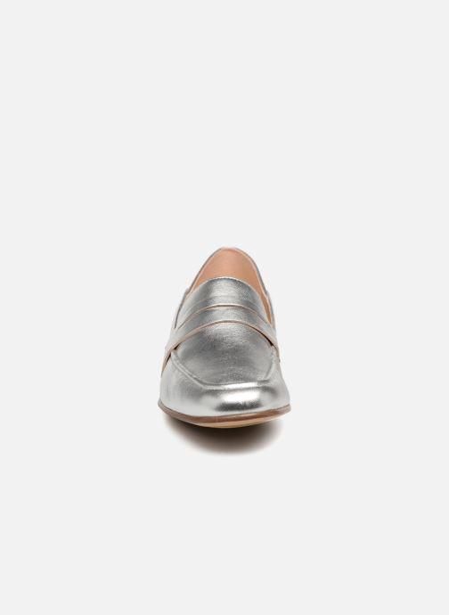 Mocassins Clarks Pure Iris Argent vue portées chaussures