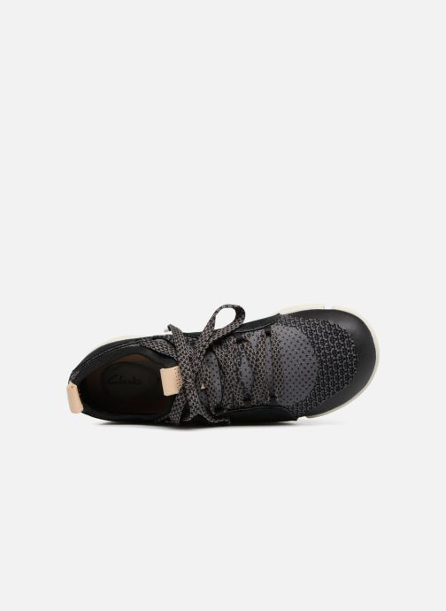 Trainers Clarks Tri Amelia Black view from the left