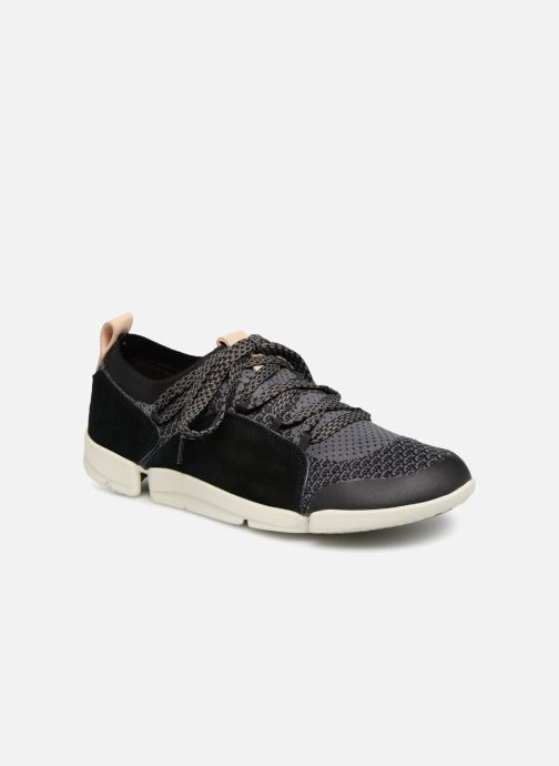 Trainers Clarks Tri Amelia Black detailed view/ Pair view