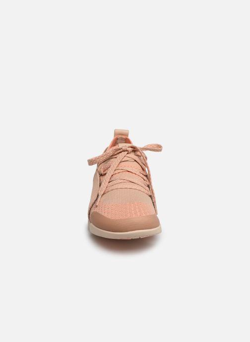 Baskets Clarks Tri Amelia Rose vue portées chaussures