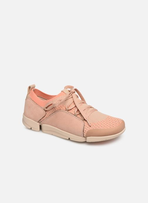 Tri Sneaker 361525 Clarks rosa Amelia gwq6ZTzZ