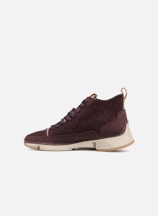 Sneakers Clarks Tri Free Paars voorkant