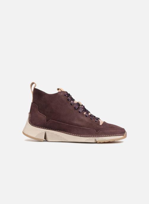 Sneakers Clarks Tri Free Paars achterkant