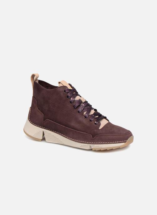 Sneakers Clarks Tri Free Paars detail