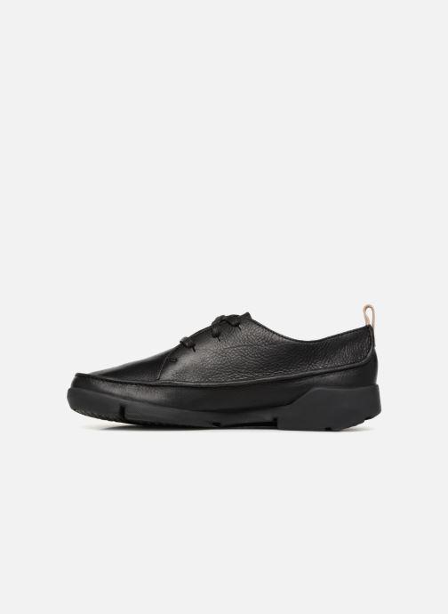 Sneakers Clarks Tri Clara Nero immagine frontale
