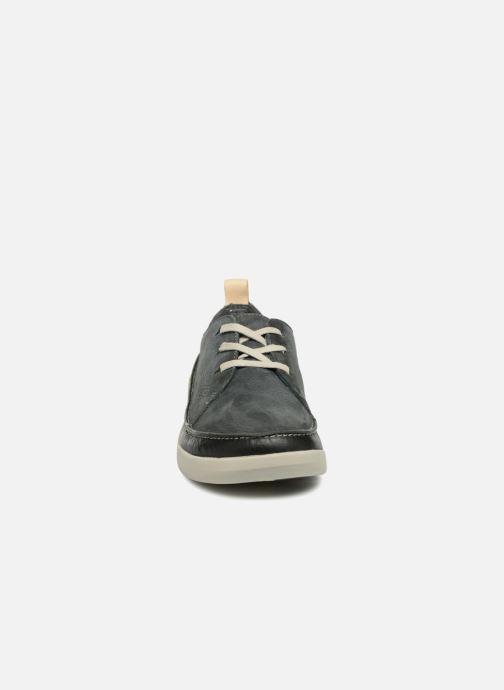 Baskets Clarks Tri Clara Gris vue portées chaussures