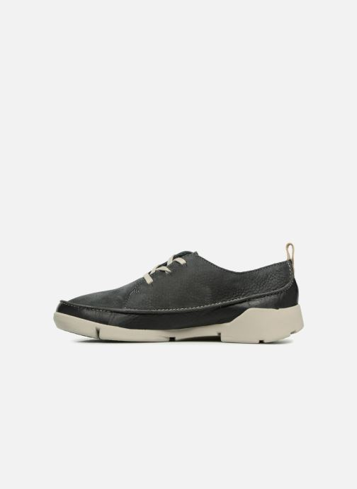 Trainers Clarks Tri Clara Grey front view