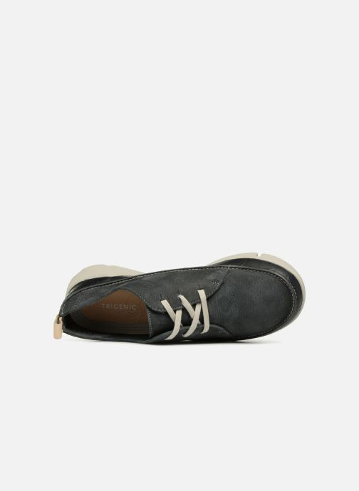 Trainers Clarks Tri Clara Grey view from the left