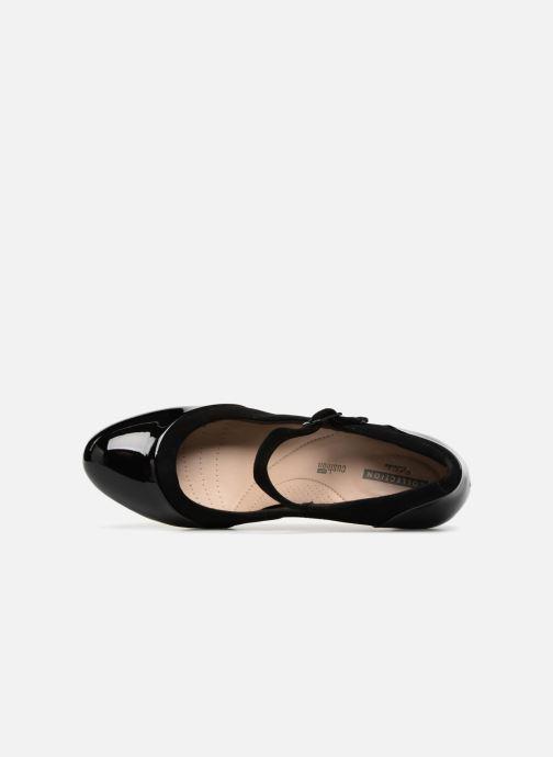Clarks Adriel Carla (Negro) Zapatos de tacón chez Sarenza