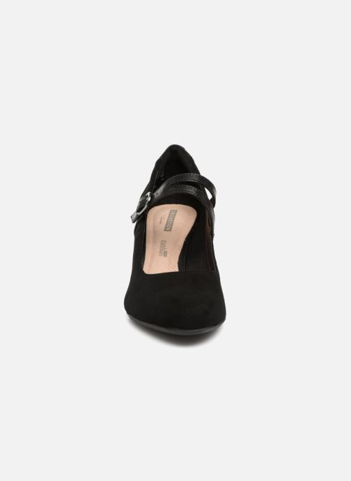 Escarpins Clarks Dancer Reece Noir vue portées chaussures