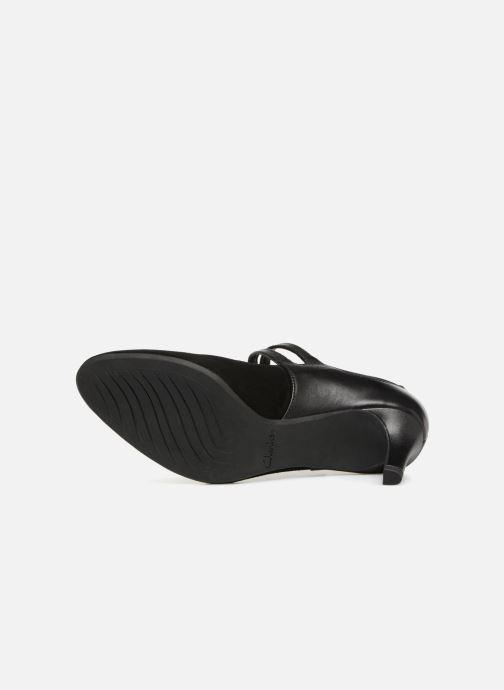 Zapatos de tacón Clarks Dancer Reece Negro vista de arriba