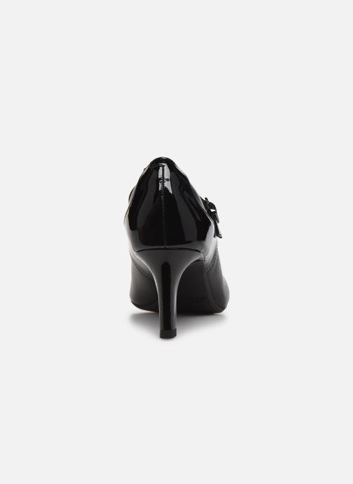Zapatos de tacón Clarks Dancer Reece Negro vista lateral derecha