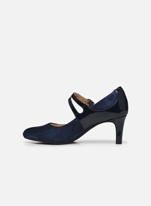 Zapatos de tacón Clarks Dancer Reece Negro vista de frente