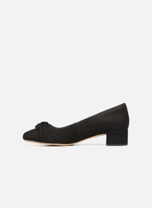 High heels Clarks Orabella Lily Black front view