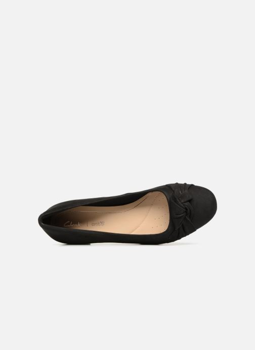 High heels Clarks Orabella Lily Black view from the left