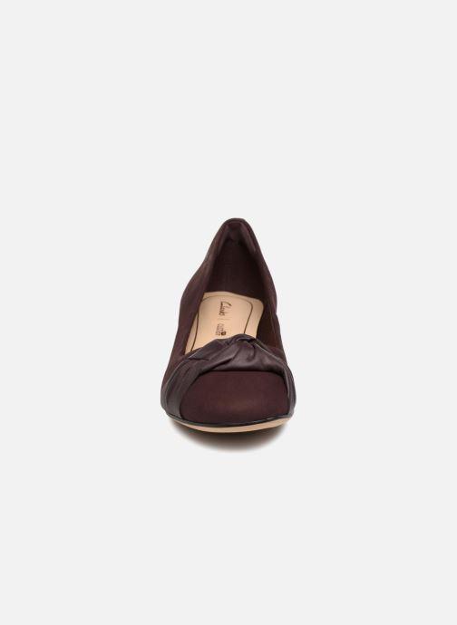 High heels Clarks Orabella Lily Purple model view