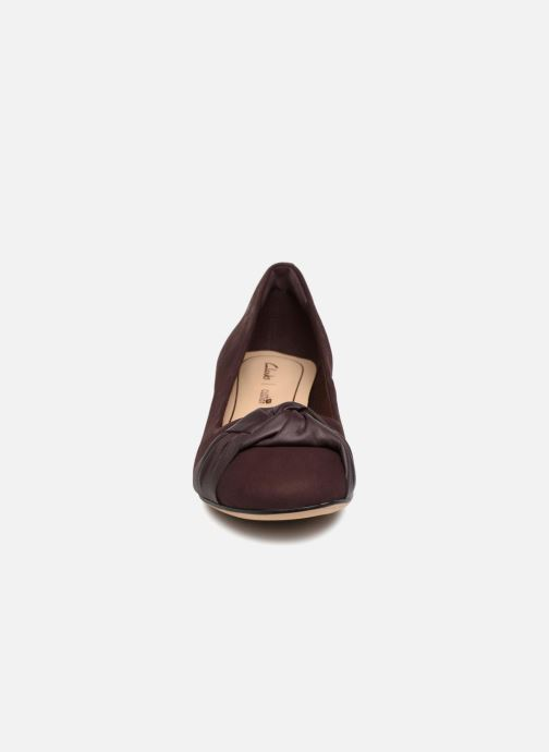 High heels Clarks Orabella Lily Purple model view