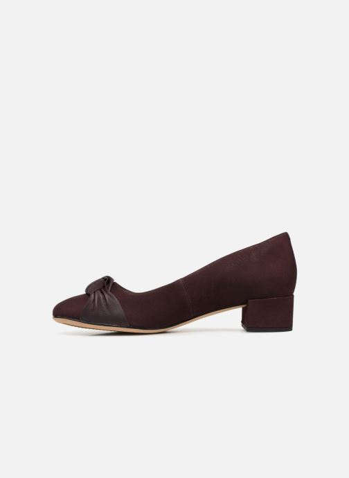High heels Clarks Orabella Lily Purple front view