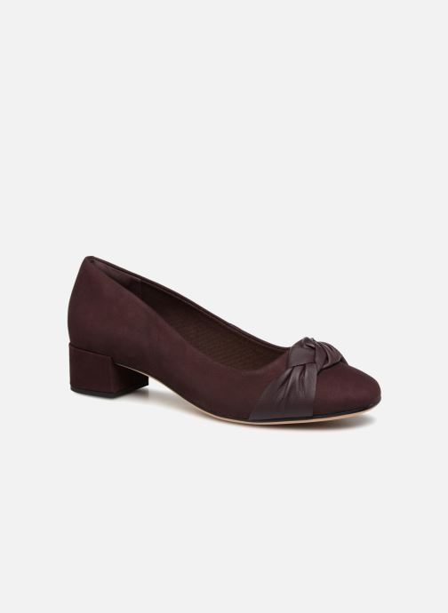 High heels Clarks Orabella Lily Purple detailed view/ Pair view