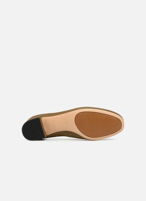 Zapatos de tacón Clarks Orabella Alice Verde vista de arriba