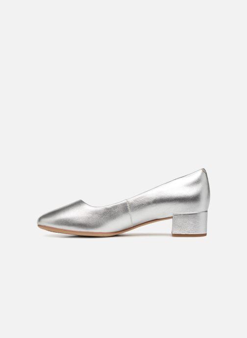 Zapatos de tacón Clarks Orabella Alice Plateado vista de frente