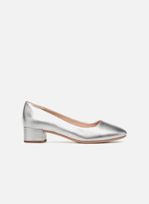 Zapatos de tacón Clarks Orabella Alice Plateado vistra trasera