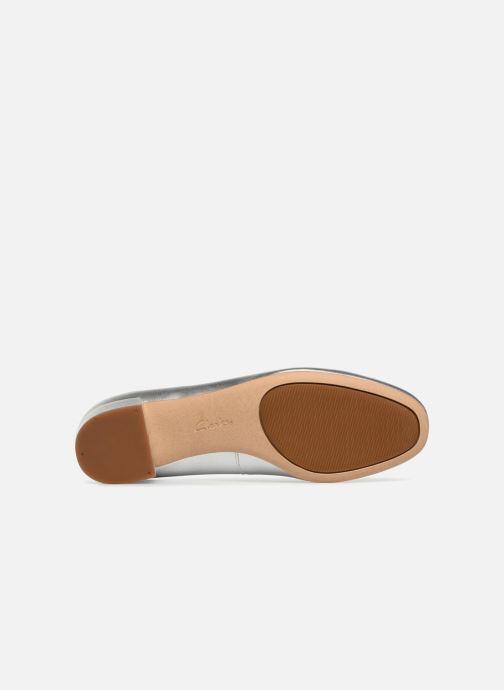 Zapatos de tacón Clarks Orabella Alice Plateado vista de arriba