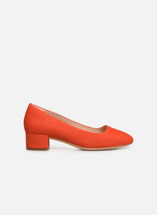 Escarpins Clarks Orabella Alice Orange vue derrière