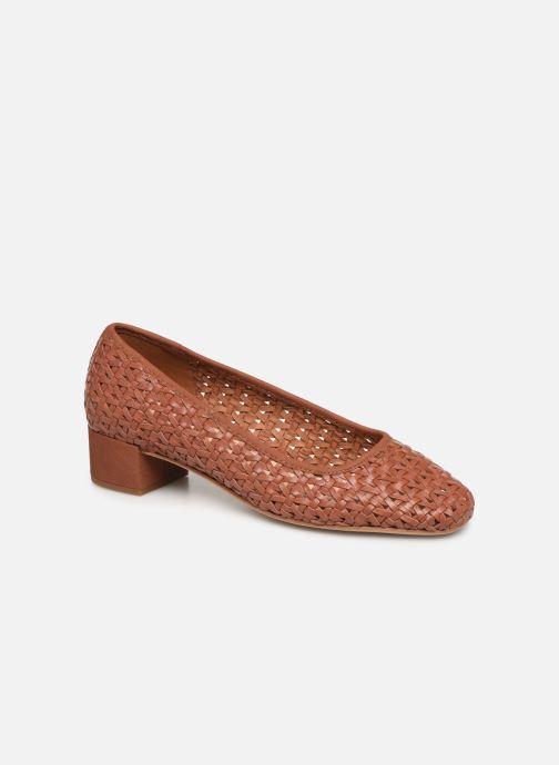 High heels Clarks Orabella Alice Brown detailed view/ Pair view