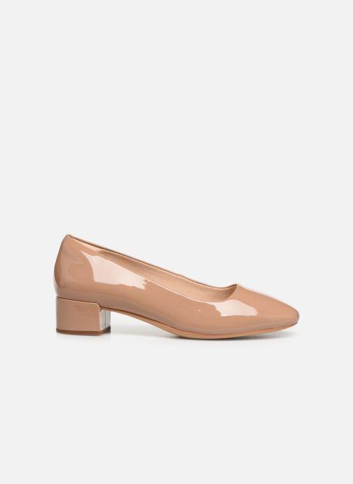 Zapatos de tacón Clarks Orabella Alice Beige vistra trasera