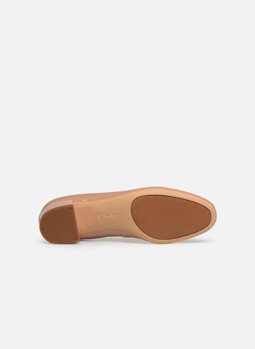 Zapatos de tacón Clarks Orabella Alice Beige vista de arriba