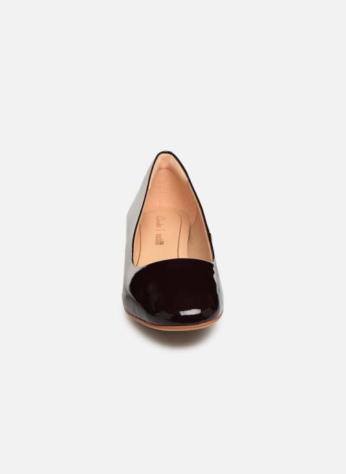 Escarpins Clarks Orabella Alice Bordeaux vue portées chaussures
