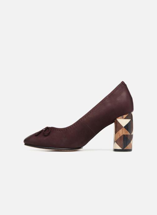 Zapatos de tacón Clarks Grace Nina Violeta      vista de frente