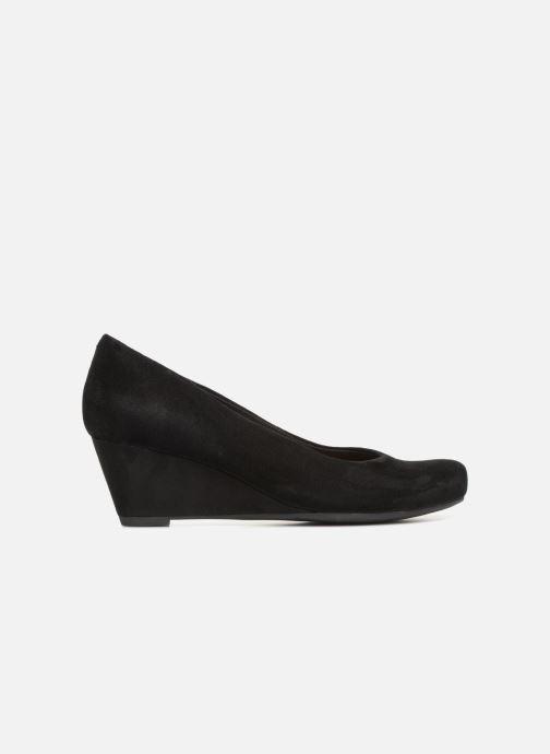 Zapatos de tacón Clarks Flores Tulip Negro vistra trasera